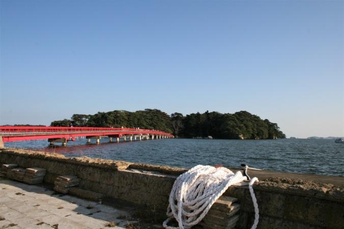 Fukuura Island off the coast of Matsushima