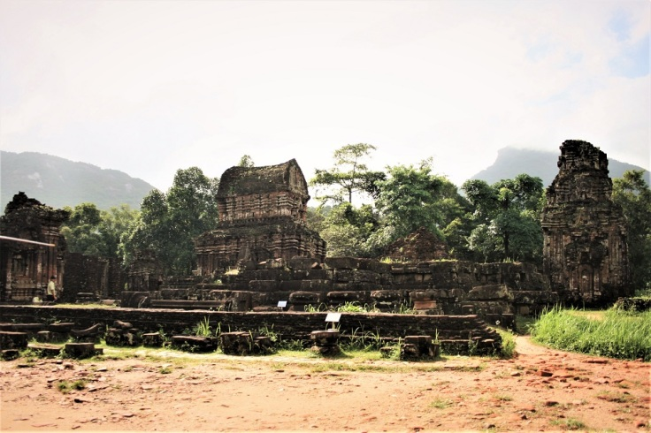The ruined Cham temple complex at My Son