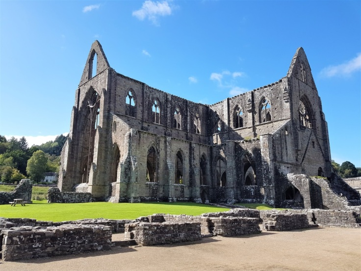 The remains of Tintern Abbey